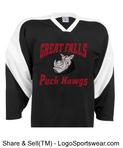 Adult Slap Shot Hockey Jersey Design Zoom